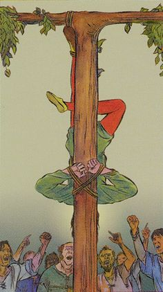 XII. The Hanged Man: Tarot of the New Vision