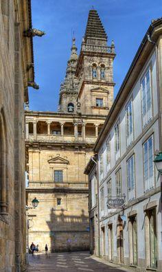 Santiago de Compostela Old Town. An HDR from 3 shots.