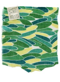 Delaunay - comfortable, soothing colors swimming like fishes. Moss green, teal blue, down yellow.