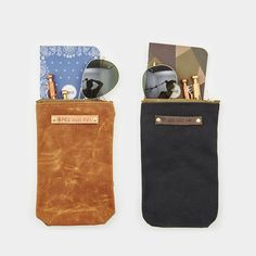 The Scribbler Pouch - Cool Material | Made in USA