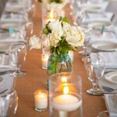 Check out this Burlap Wedding Table Runner on the Easy Weddings Shop
