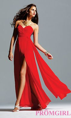 Celebrity Style Gown by Faviana 6428 at PromGirl.com