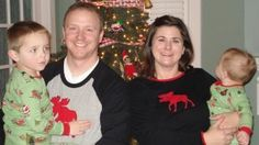 Matching family pajamas. The best Christmas tradition ever.