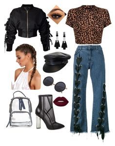 Untitled #1 by cJzj on Polyvore featuring polyvore, fashion, style, storets, Marques'Almeida, Steve Madden and clothing