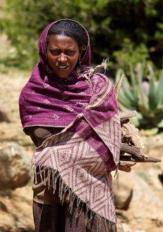Ethiopian Peasant Girl