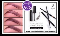 precision eyebrowset comes in 3 shades light medium & dark