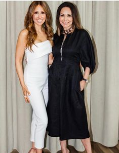 Isabel Madison and Moll Anderson at Forty Five Ten in Dallas for the Nude Envie luncheon hosted by Moll Anderson