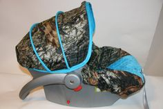 Ready to ship  Hunters CAMO infant car seat by BABYCOVERS2010, $70.00