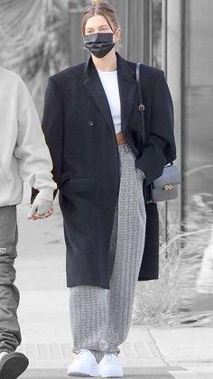 Hailey Baldwin in Los Angeles, California on Saturday 13/02/2021 #VeronicaTasmania Ireland Baldwin, Mena Suvari, Hailey Baldwin, Veronica, California, Street Style, Blazer, Jackets, Fashion