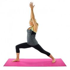 Fitness Index: Stretch.Target: Total Body. warrior-pose