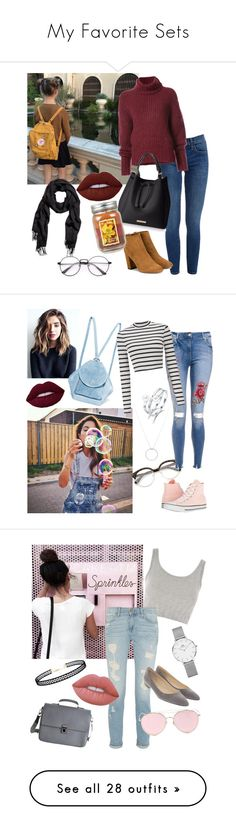 """My Favorite Sets"" by merylrs ❤ liked on Polyvore featuring BY. Bonnie Young, Aquazzura, Lime Crime, Holiday Memories, Converse, Roberto Coin, MANU Atelier, Miss Selfridge, Topshop and LMNT"
