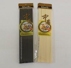 Premium 100% Melamine Chinese Chop Sticks Zhong Hua (Black)