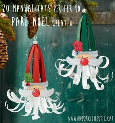 Pleins didées pour vous inspirer des déco et activités pour les fêtes de noël. Christmas Arts And Crafts, Noel Christmas, Christmas Activities, Christmas Projects, Winter Christmas, Holiday Crafts, Christmas Cards, Christmas Ornaments, Kids Crafts