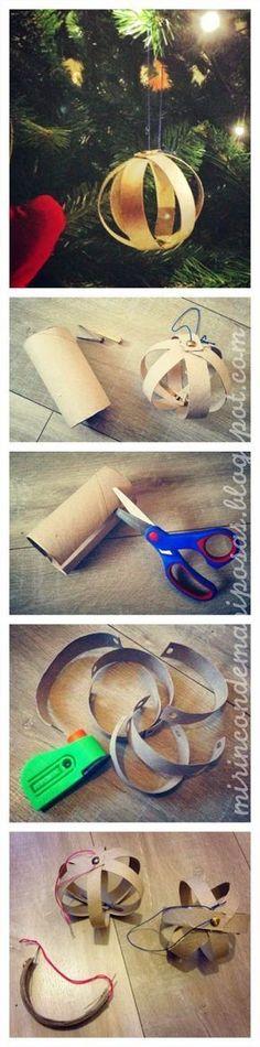 mi rincón de mariposas: Bolas de cartón reciclado
