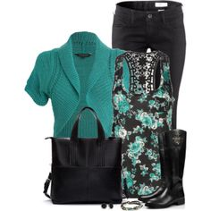 Turquoise, created by immacherry on Polyvore