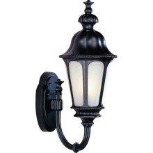 Trans Globe Lighting 4276 RT Three Light Outdoor Wall Lantern in Rust Finish