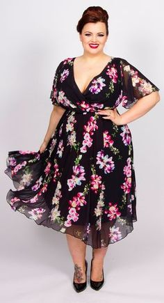 55 Plus Size Wedding Guest Dresses with Sleeves - Plus Size Cocktail Dresses - a. Plus Size Wedding Guest Dresses, Plus Size Cocktail Dresses, Dress Plus Size, Plus Size Outfits, Plus Size Summer Dresses, Scarlett And Jo, Moda Floral, Dress Outfits, Fashion Dresses