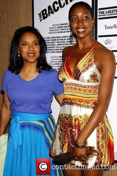 Condola Rashad and her mother Phylicia