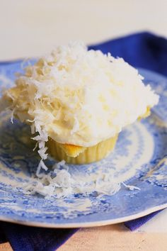 My original Coconut Cupcakes from Barefoot Contessa