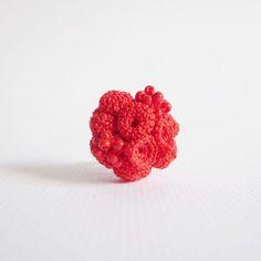 """akke crochet ring""""bouquet"""""""