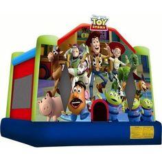 Disney Toy Story Medium Inflatable Jumper 4.4 x 4.1m   Buy Jumping Castles