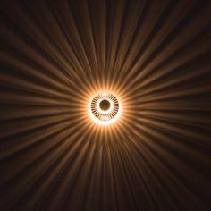 #deckenlampe #flur  s`luce Sunrise Effektleuchte für Decke/Wand KHL9115: Amazon.de: Beleuchtung