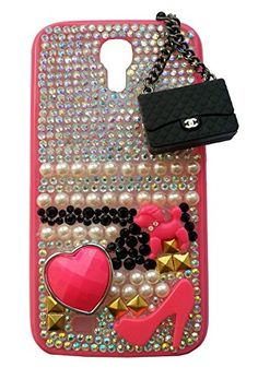 Cover Sciantosa + Ciondolo Borsetta Nera Samsung Galaxy S4 i9500 i9505 i9515 Reload Factory http://www.amazon.it/dp/B00QU045IC/ref=cm_sw_r_pi_dp_EabKub0VQE0Q3