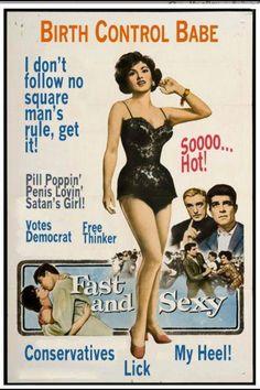 Birth Control Babe poster