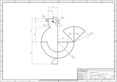 Autocad, Interesting Drawings, Buddhist Art, Technical Drawing, Animal Kingdom, My Drawings, Design Art, Logos, Illustration