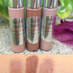 New! Gift Idea! Mini Liquid Lip Trios- BUXOM BROWNS- All Natural Liquid Lipsticks- All Natural and Vegan Friendly! by AddictiveCosmetics on Etsy