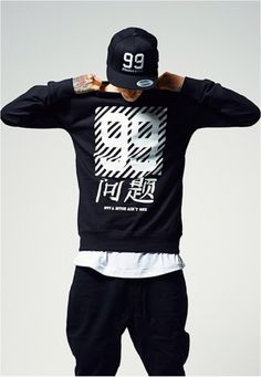 Chinese Problems Crewneck Sweater - Portofrei bei Rudestylz #fashion #sweater #crewneck #chinese #style #black #kleidung http://www.rudestylz.de/chinese-problems-sweater.htm
