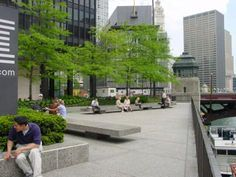Thoughtful tree planting provides shade in public spaces - trees in urban spaces in pictures - Google Search