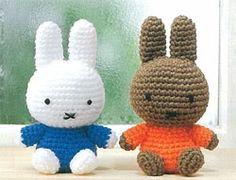 32 Beste Afbeeldingen Van Nijntje Crocheting Miffy En Chrochet