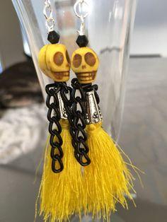 A personal favorite from my Etsy shop https://www.etsy.com/listing/489349767/hornet-skull-earrings-pierced-earrings