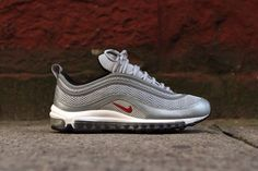 Nike Air Max 97 PRM EM Silver Bullet Had to have these retro 97 max!