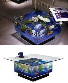 Aqua Square Coffee Table Aquariu