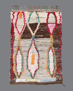 vintage Moroccan rug, Ourika #OR09