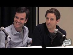 An incredibly harrowing experience. #bonerghost #sethmeyers #willforte