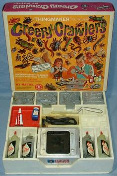 Creepy Crawlers this was my favorite toy! And vacuforms....