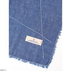 026599b04e Japan Blue JB-SC04-P Indigo scarf Dark Indigo