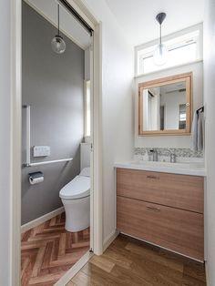 Japanese Buildings, Toilet Design, Home Interior Design, New Homes, House Design, Bathroom, Home Decor, Houses, Bedroom