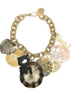 saint laurent necklace - Buscar con Google