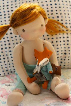 Doll making, natural fiber art dolls, waldorf inspired toys and more. Waldorf Toys, Doll Maker, Doll Head, Diy Doll, Fabric Dolls, Doll Patterns, Beautiful Dolls, Doll Toys, Art Dolls