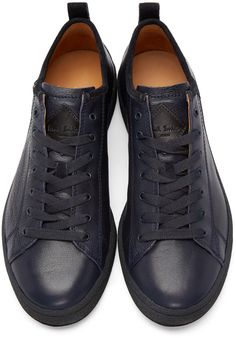 Paul Smith Jeans Blue Miyata Low-Top Sneakers