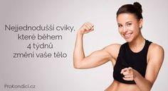 Nejjednodušší cviky, které během 4 týdnů změní vaše tělo | ProKondici.cz Body Fitness, Health Fitness, Yoga Anatomy, Organic Beauty, Excercise, Body Care, Pilates, Life Is Good, Bodybuilding