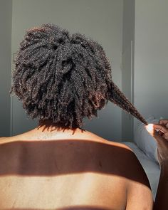 Natural Hair Growth Tips, Natural Hair Types, Type 4 Hair, Natural Afro Hairstyles, 4c Hair, Natural Hair Inspiration, Meraki, Textured Hair, Hair Hacks