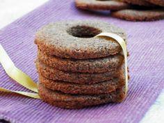 Vegan Buckwheat Vanilla Cookies | Dee's Little Kitchen