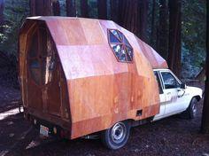 Jay Nelson's 1986 Toyota Pick Up Custom Camper - Album on Imgur