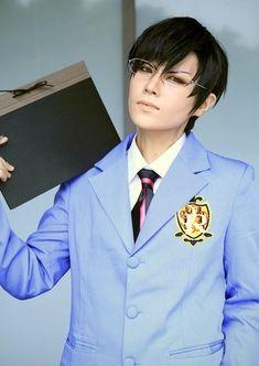 Ouran High School Host Club: Kyoya Ootori cosplay
