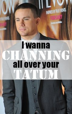 Channing Tatum not only has a new movie, White House Down, but a newborn daughter, Everly, as well. Channing Tatum, Magic Mike Movie, Distant Love, White House Down, Coach Carter, Nbc Today Show, Hilarious, Funny, Man Alive